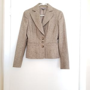 🎀Ann Taylor Wool Button Blazer Jacket